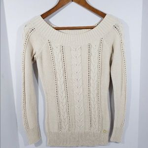 Guess Knit Sweater Rose Pink Size Small